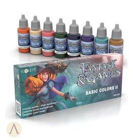 Scale75: Fantasy & Games: Basic Colors II Set