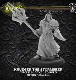 Hordes: Krueger the Stormseer - Circle Blackclad Solo (New)