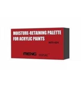 Meng: Moisture-Retaining Palette for Acrylic Paints