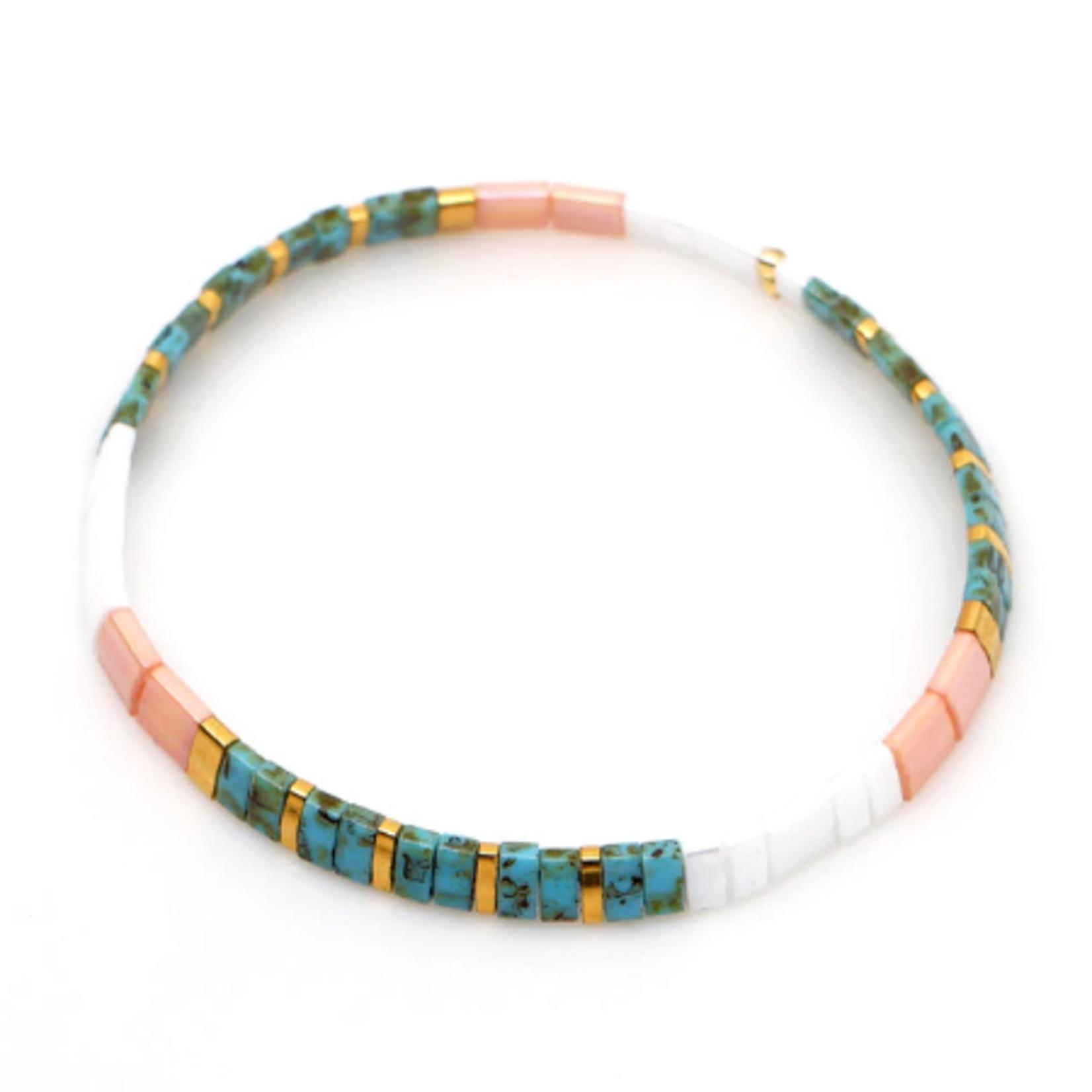 Wyld Blue Lego Bracelet