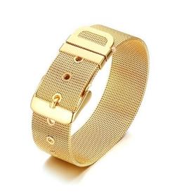 Wyld Blue Mesh Belt Bracelet