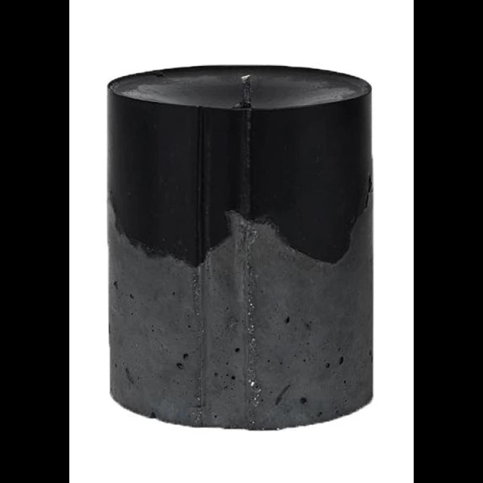 Concrete Love Vetiver Black Concrete Candle