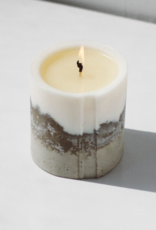 Concrete Love Palmarosa White Concrete Candle