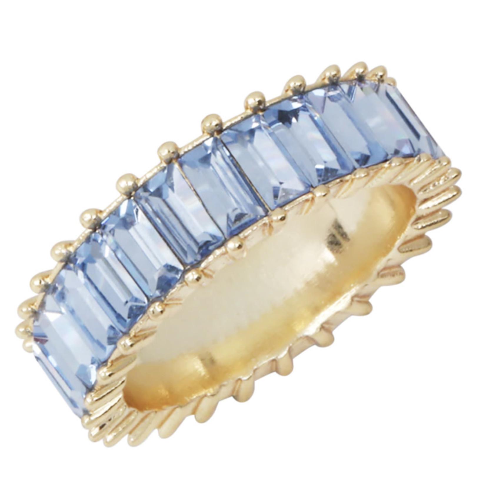 Wyld Blue Blue Gem Ring