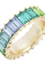 Wyld Blue Blue Shades Gem Ring