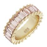 Wyld Blue Pink Gem Ring