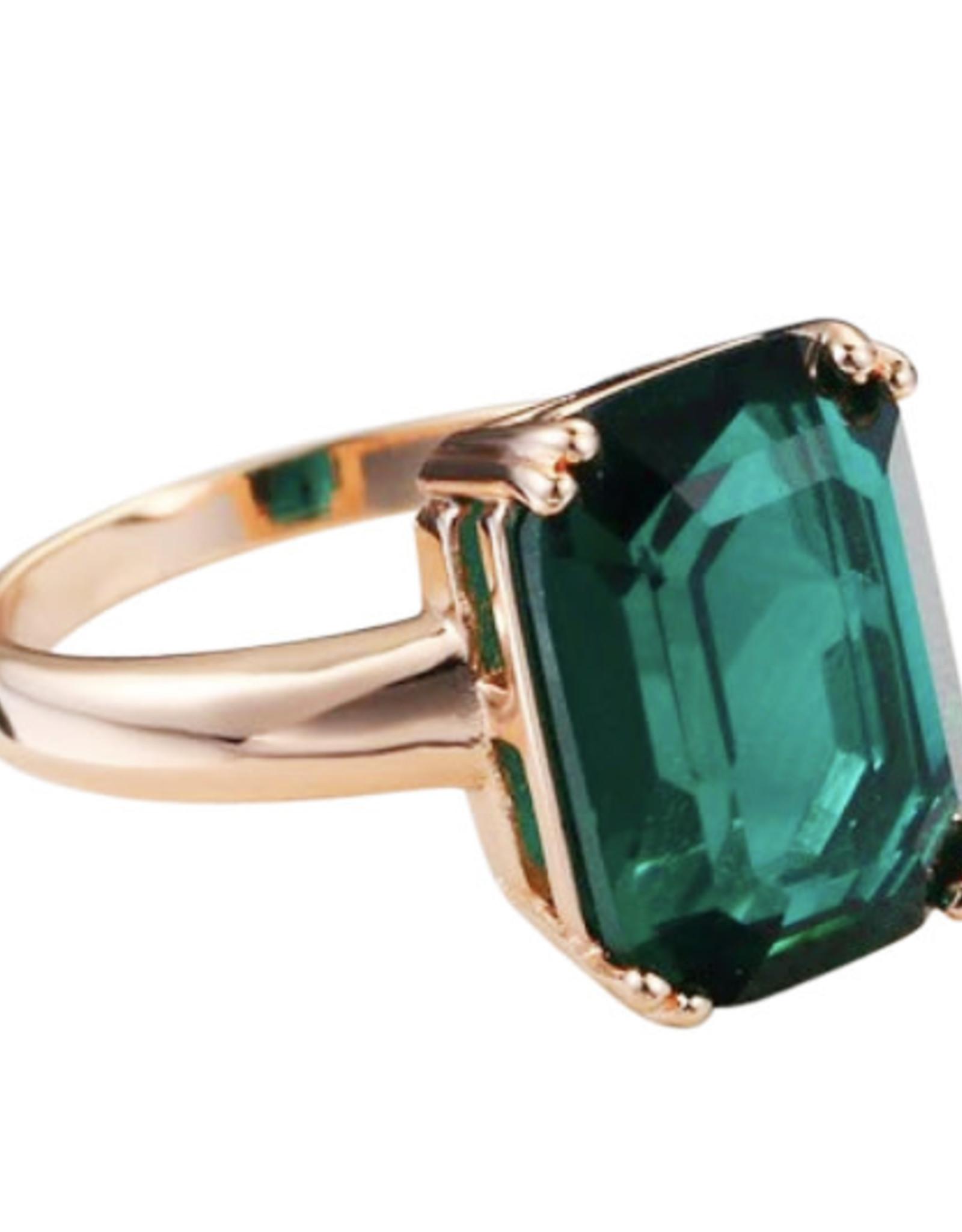 Wyld Blue Emerald Ring