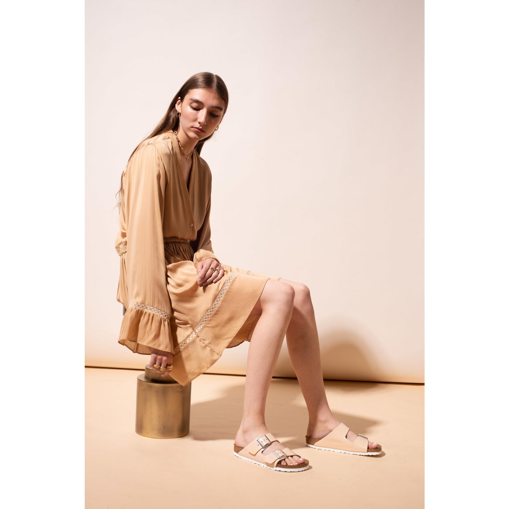 Arjé Devon Short Silk Dress