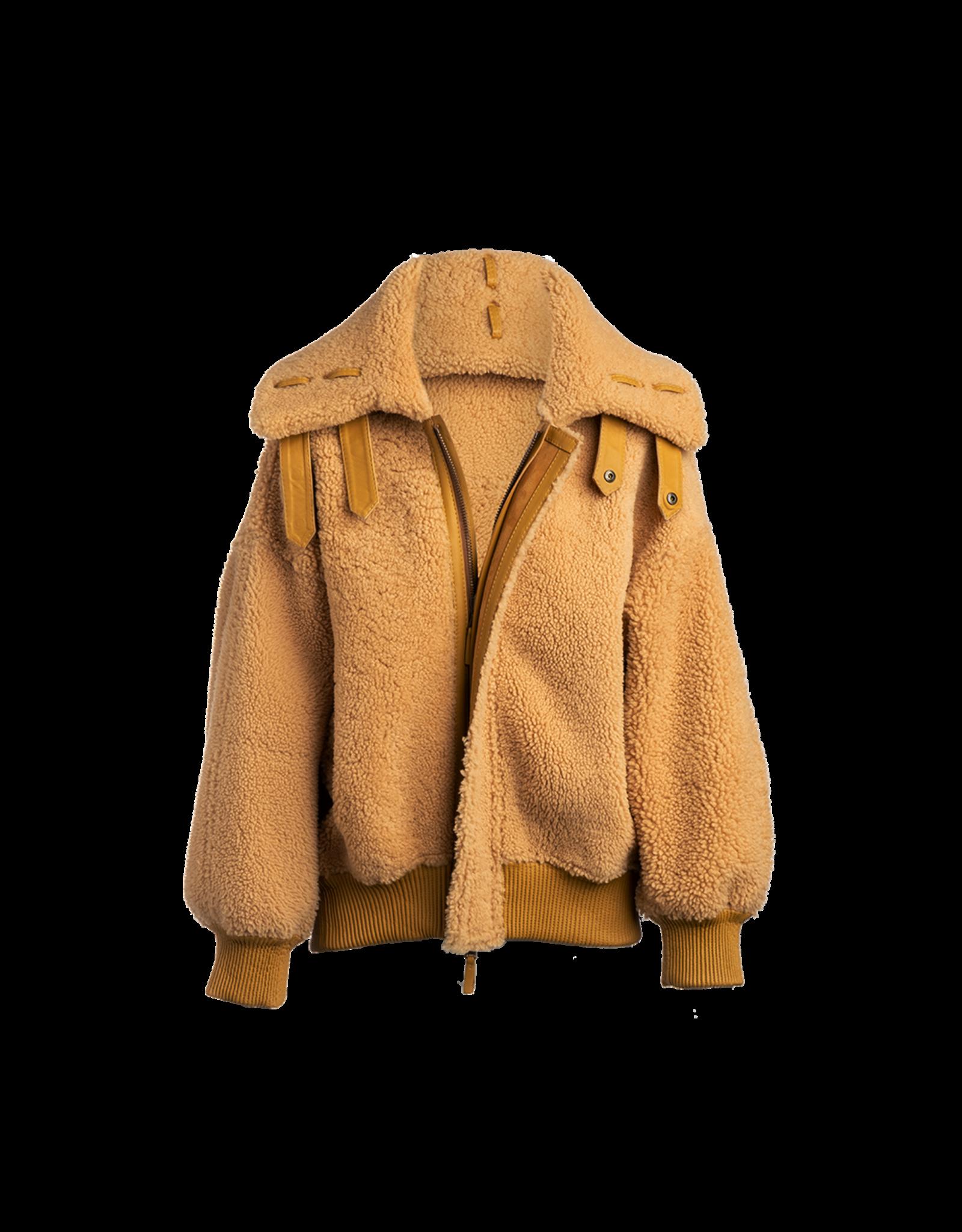 Arjé Pluto Reversible Shearling Jacket