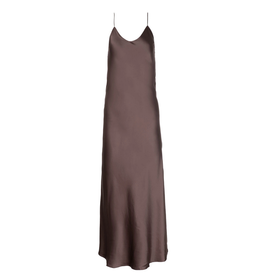 Dannijo Smoke Long Slip Dress