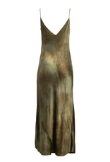 Dannijo Jade Hand-Dyed Slip Dress