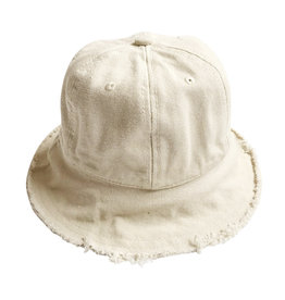 Wyld Blue Kids Kids Linen Bucket Hat