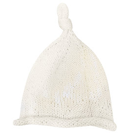 Wyld Blue Kids Baby Knit Beanie White