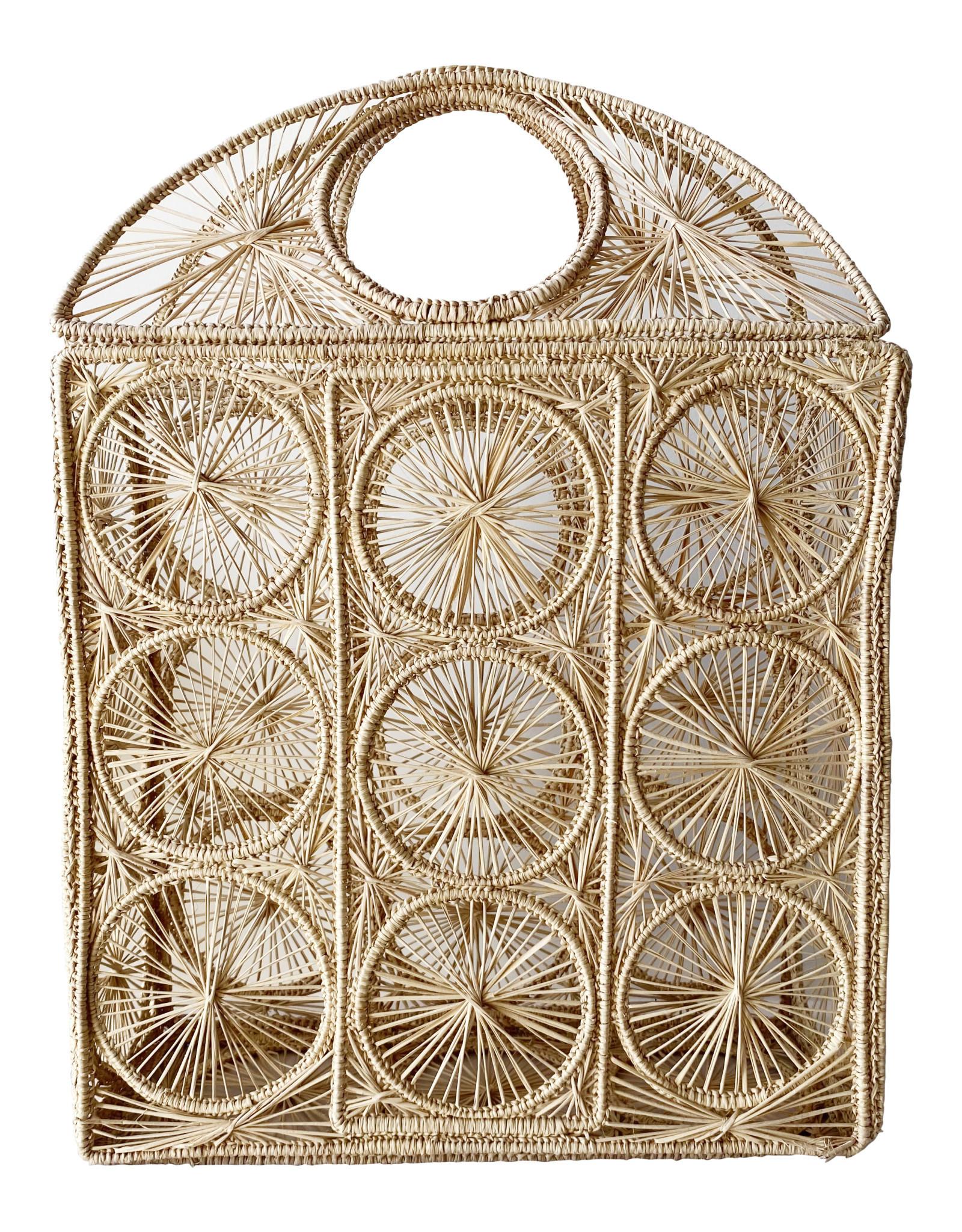 Natural Rough Panera Bag