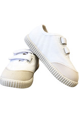Wyld Blue Kids Kids Canvas Shoes White