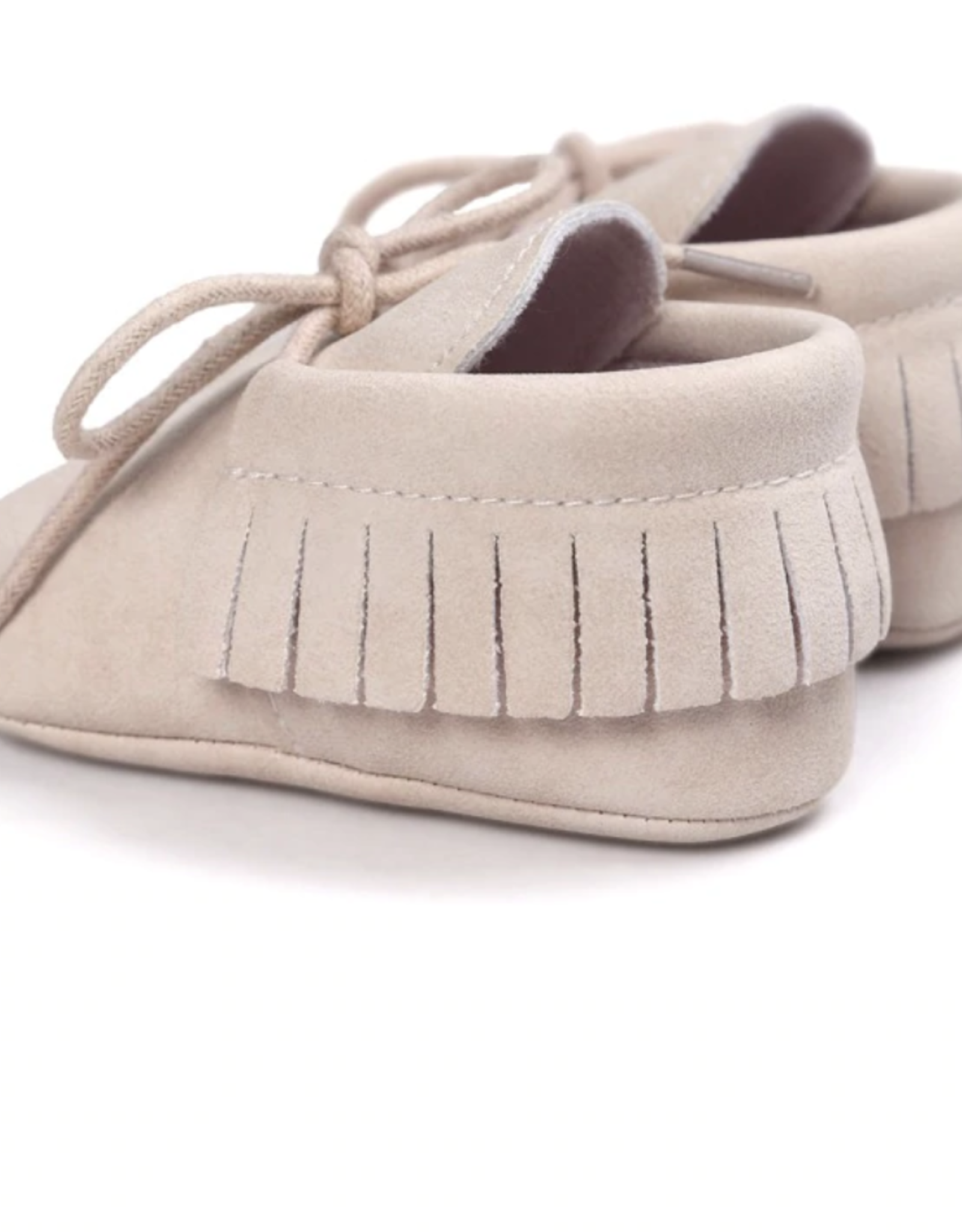 Wyld Blue Kids Baby Moccasins Sand