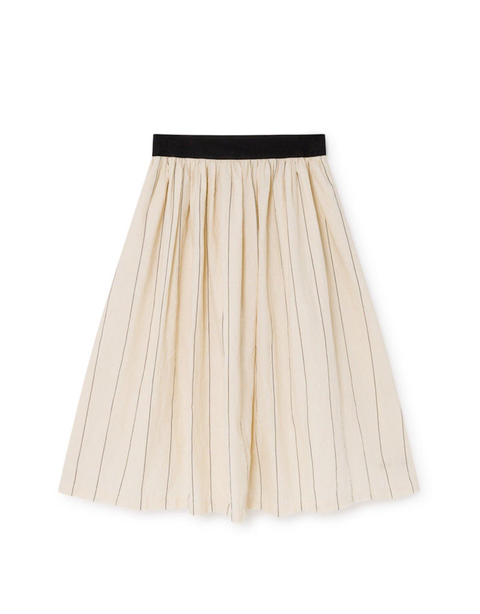 Little Creative Factory Thin-Striped Skirt Cream
