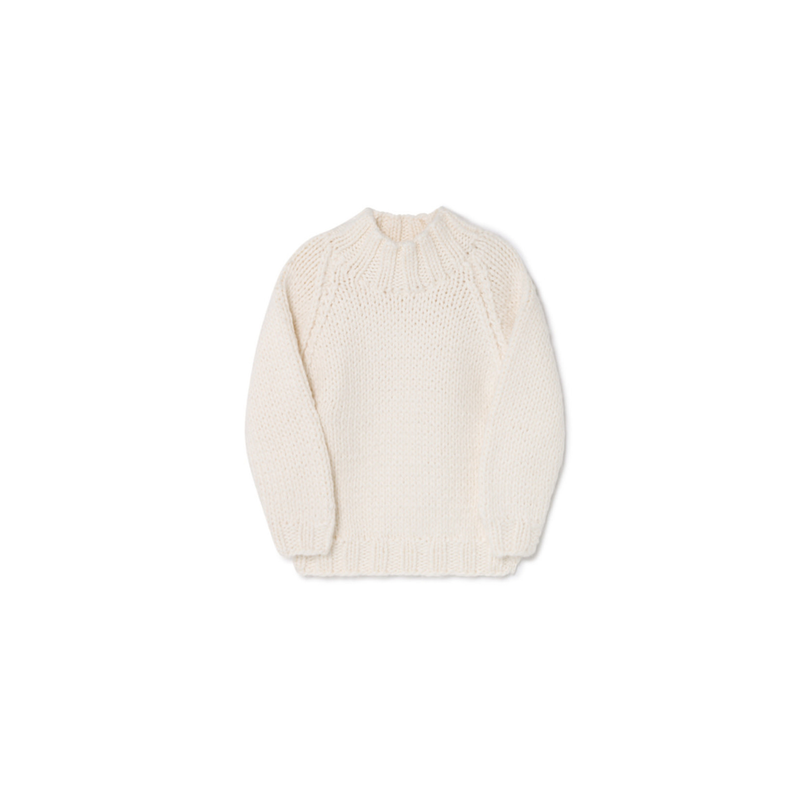 Little Creative Factory Chunky Knit Jersey Cream