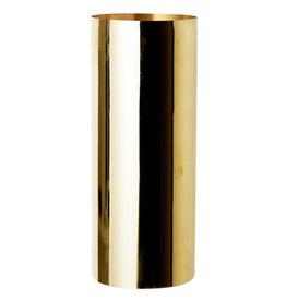 Wyld Blue Home Brass Vase