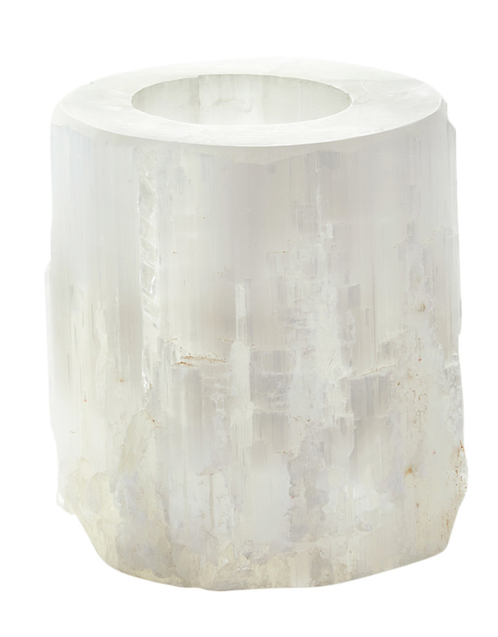 Wyld Blue Home Sahara Selenite Votive