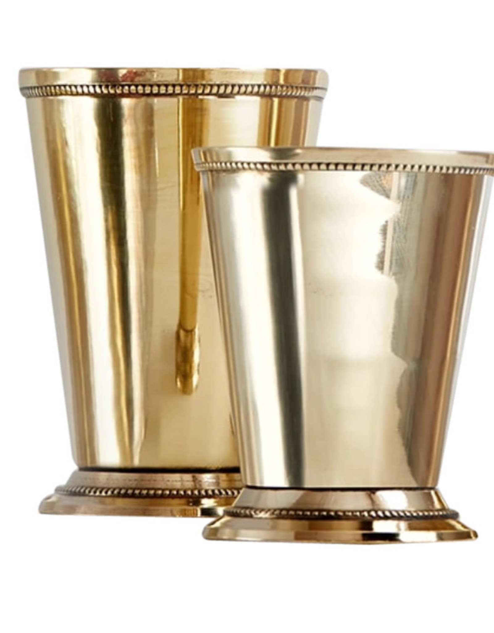 Wyld Blue Home Brass Julep Cup