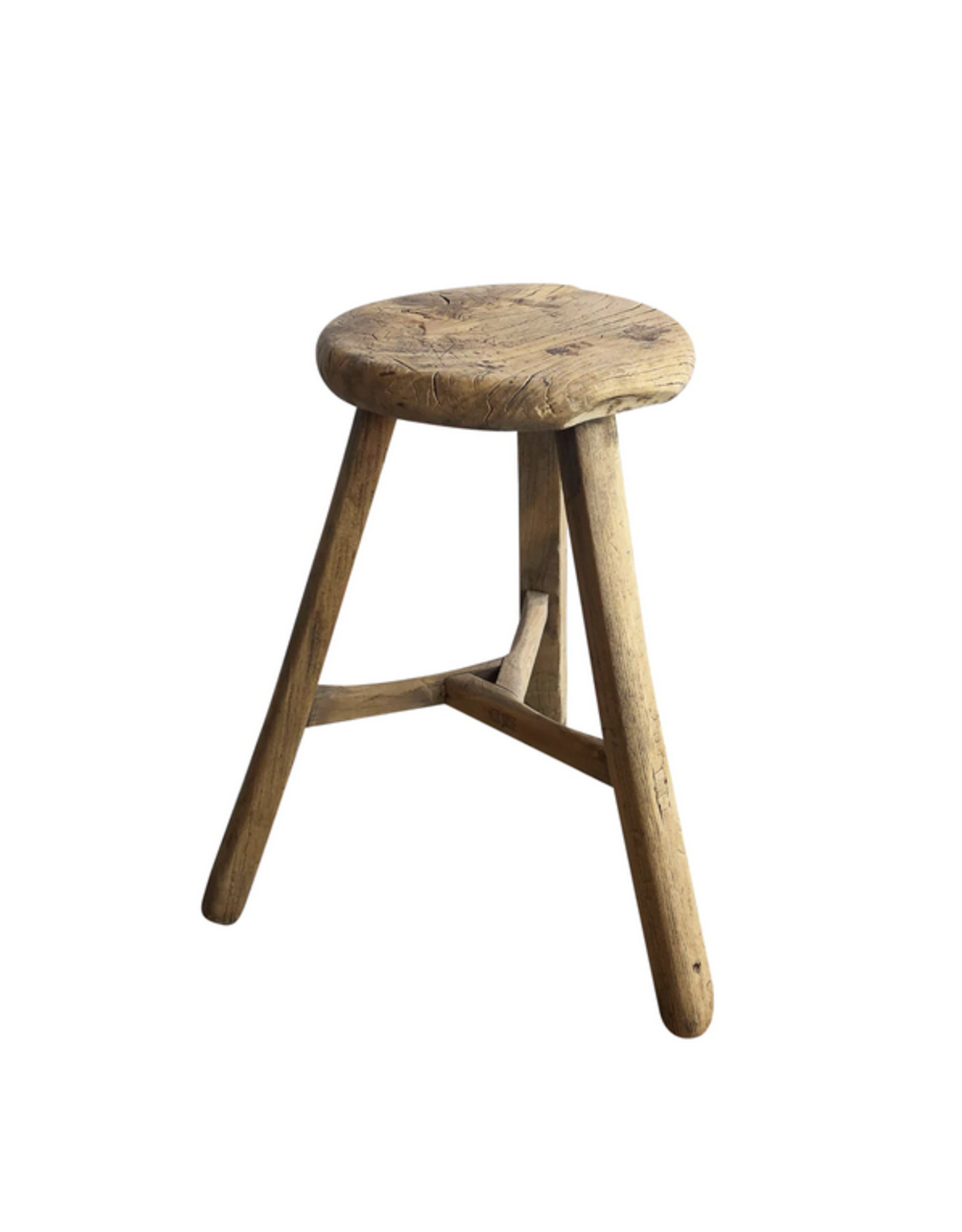 Wyld Blue Home Wooden Stool