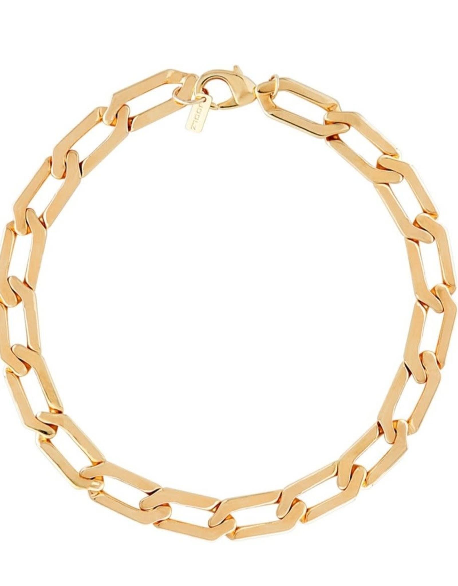 Martha Calvo Flat Figaro Chain Necklace