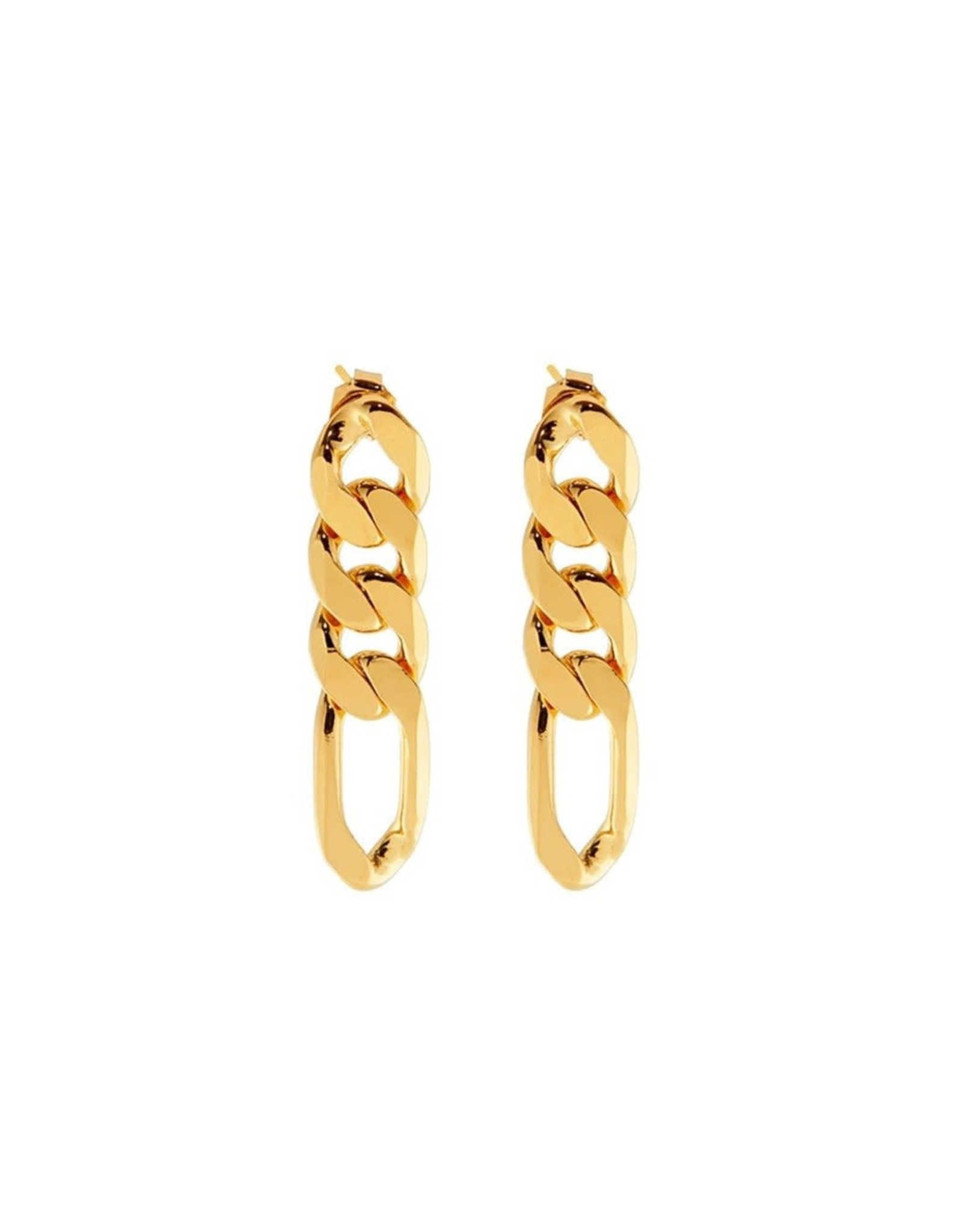 Martha Calvo Figaro Chain Link Earrings