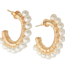 Martha Calvo Mini Capri Hoops