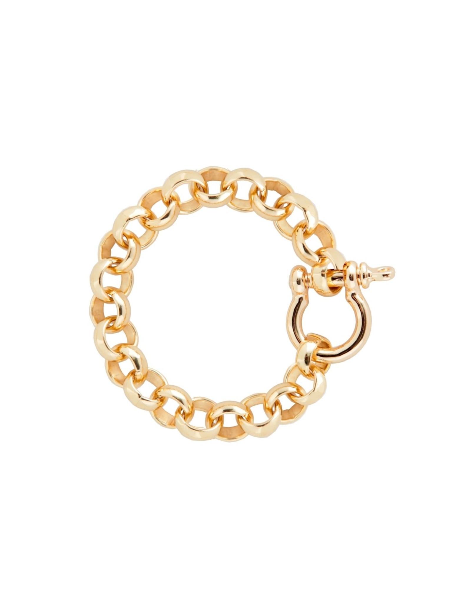 Martha Calvo Rolling in Chain Bracelet