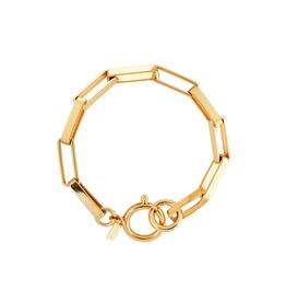 Martha Calvo Rectangle Link Bracelet