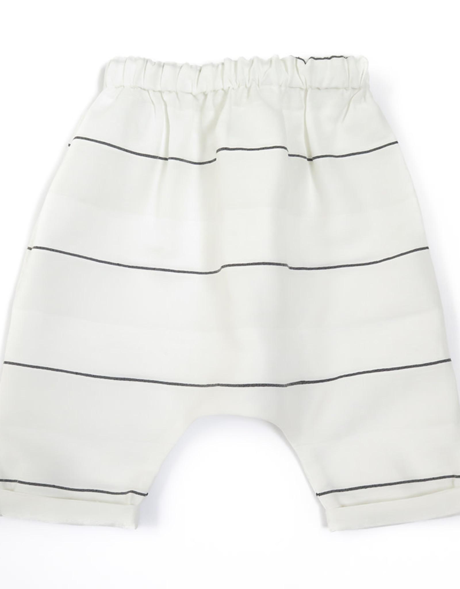 Anja Schwerbrock Piri Mini Pants White Stripe
