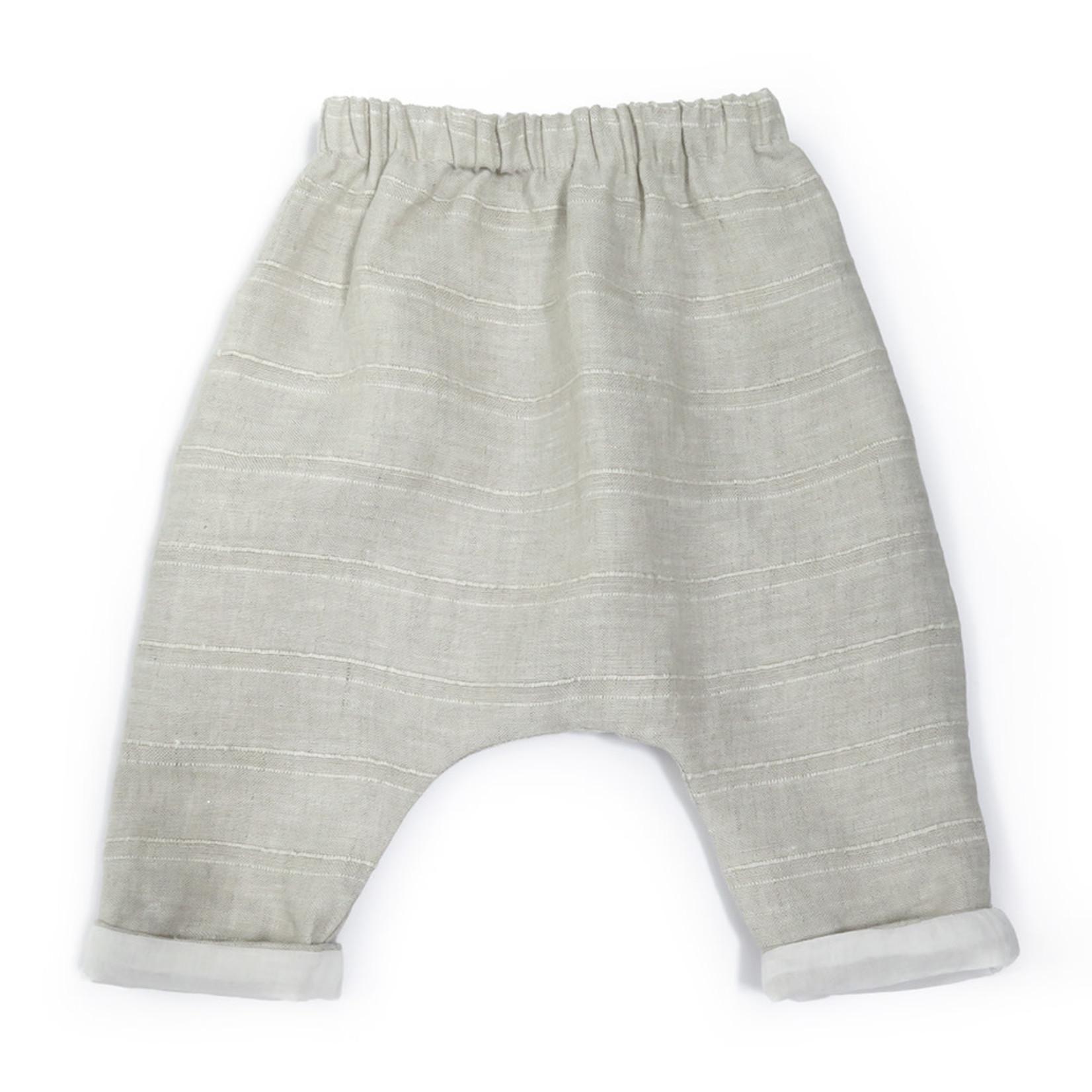 Anja Schwerbrock Piri Mini Pants Beige Stripe