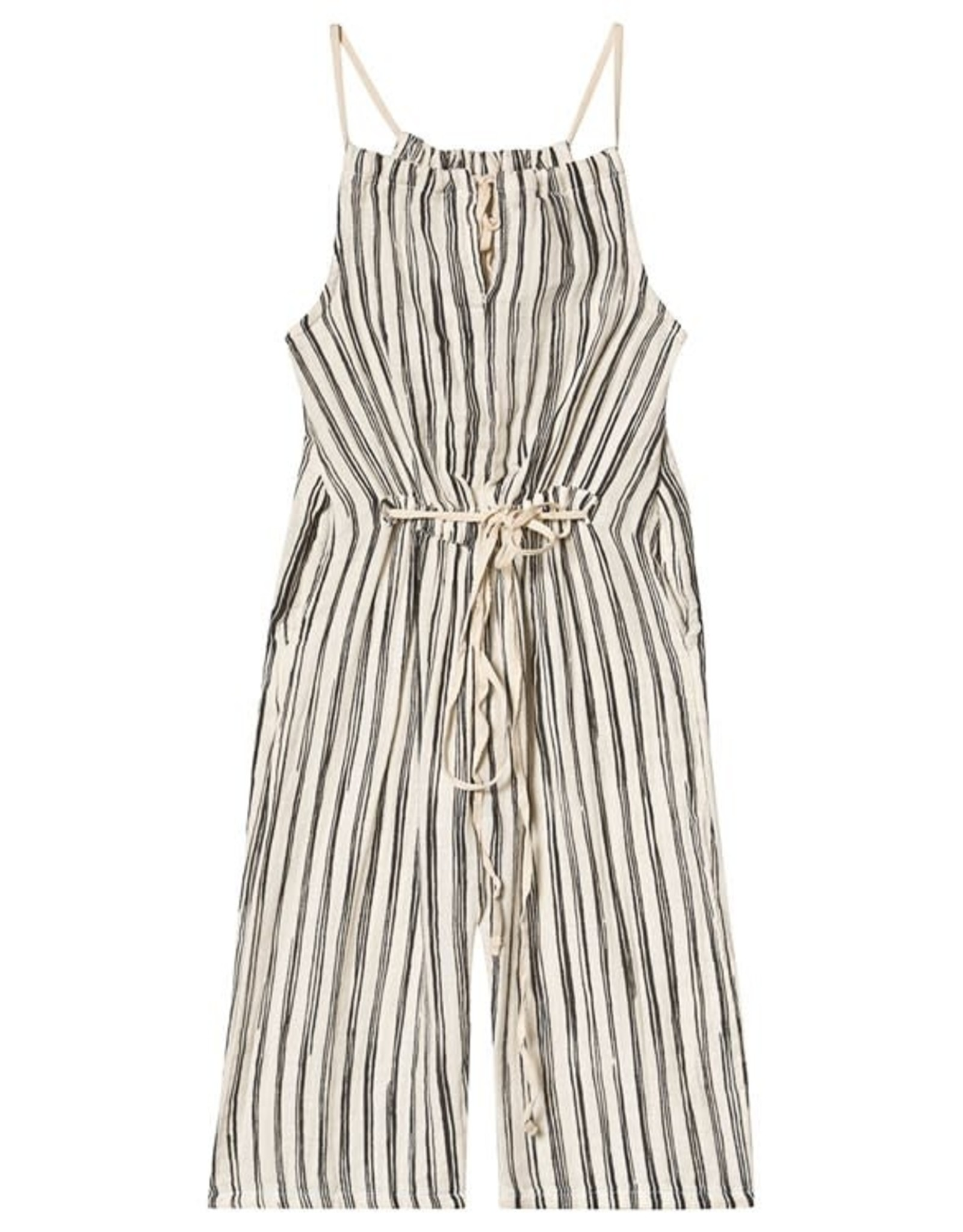 Little Creative Factory Bamboo Striped Jumpsuit