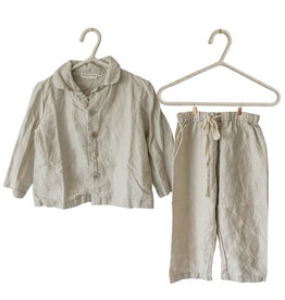 Summer & Storm Lounge Linen Set Dove