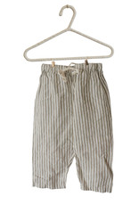 Summer & Storm Lounge Linen Set Olive Stripes