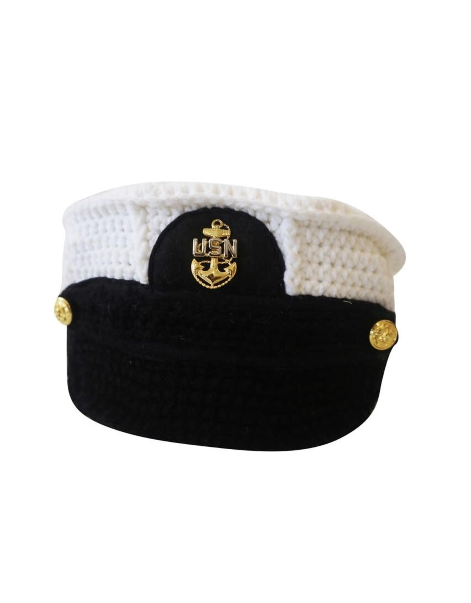 Wyld Blue Kids Knit Sailor Cap