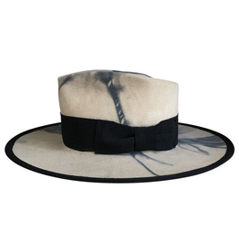 Teressa Foglia The Rive Gauche Hat White