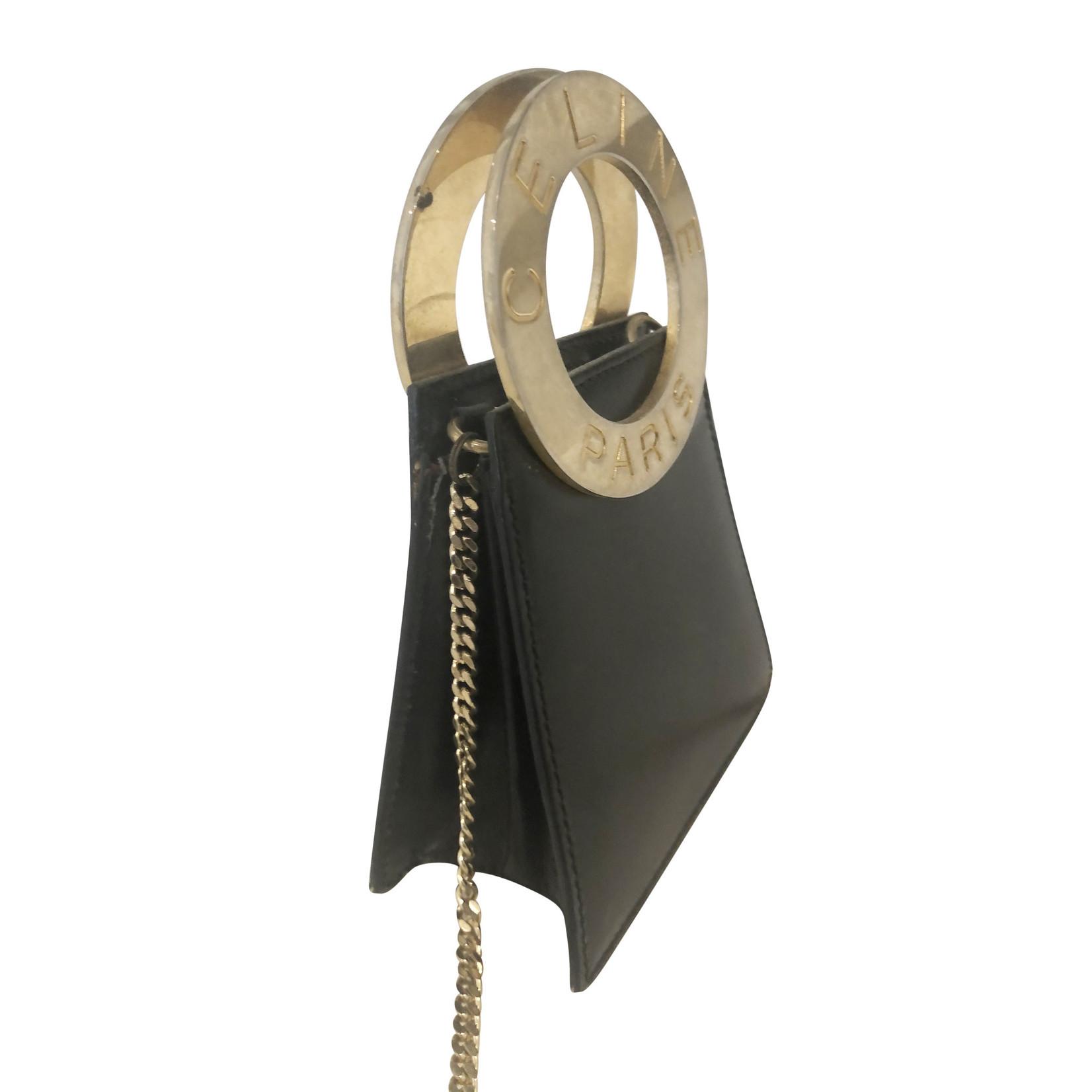 Wyld Blue Vintage Black & Gold Mini Bag (Vintage)