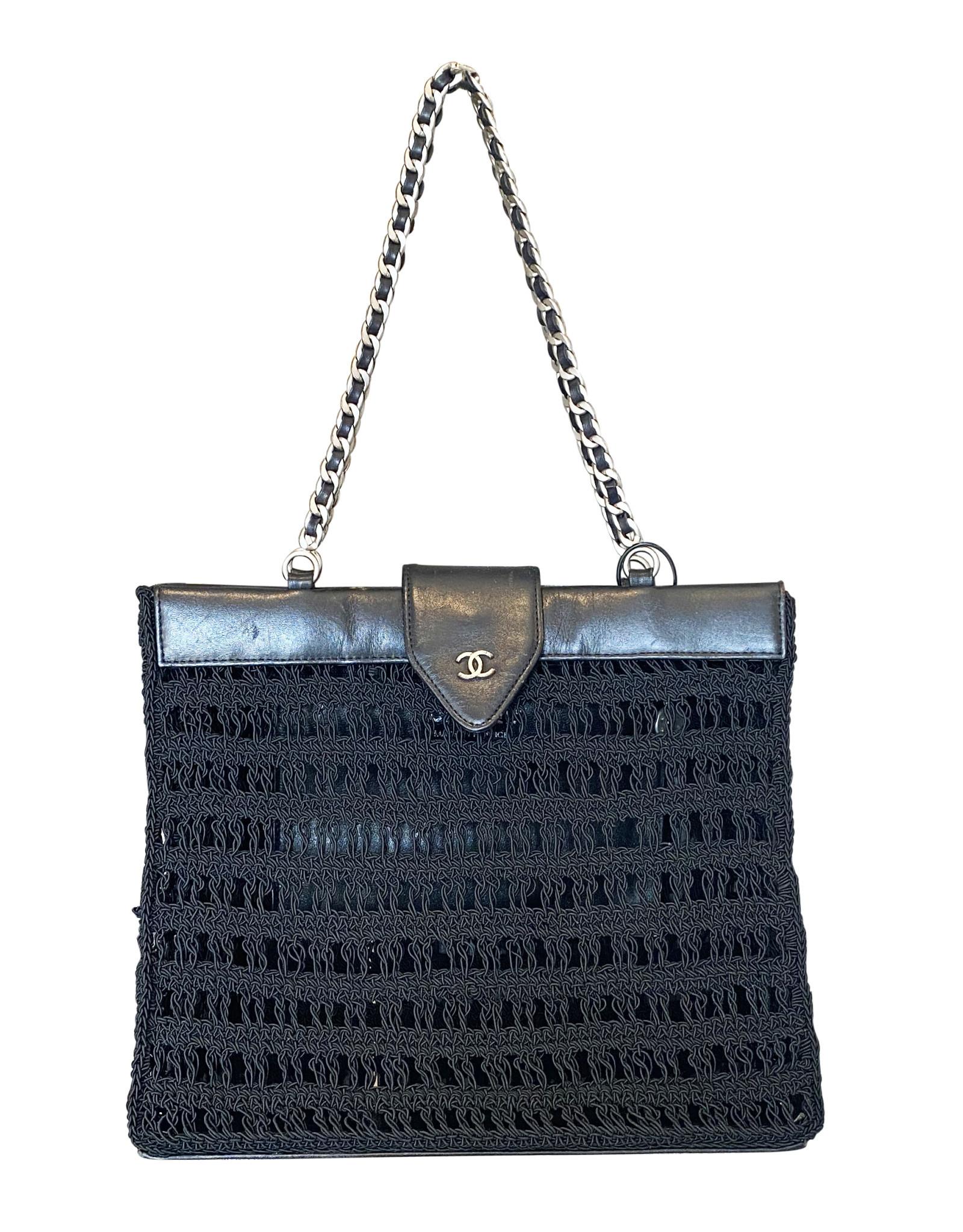 Chanel Chanel Crochet Shoulder Bag (Late 1990s Vintage)