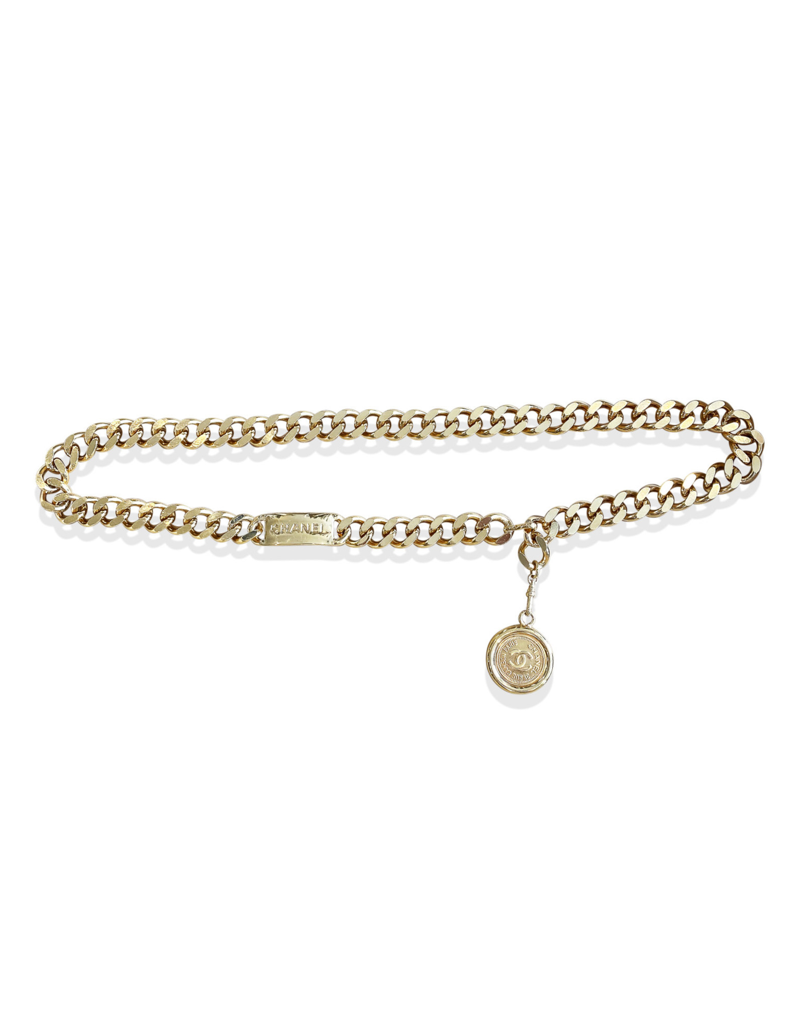 Chanel Chanel Medallion Chain Belt (1994 Vintage)