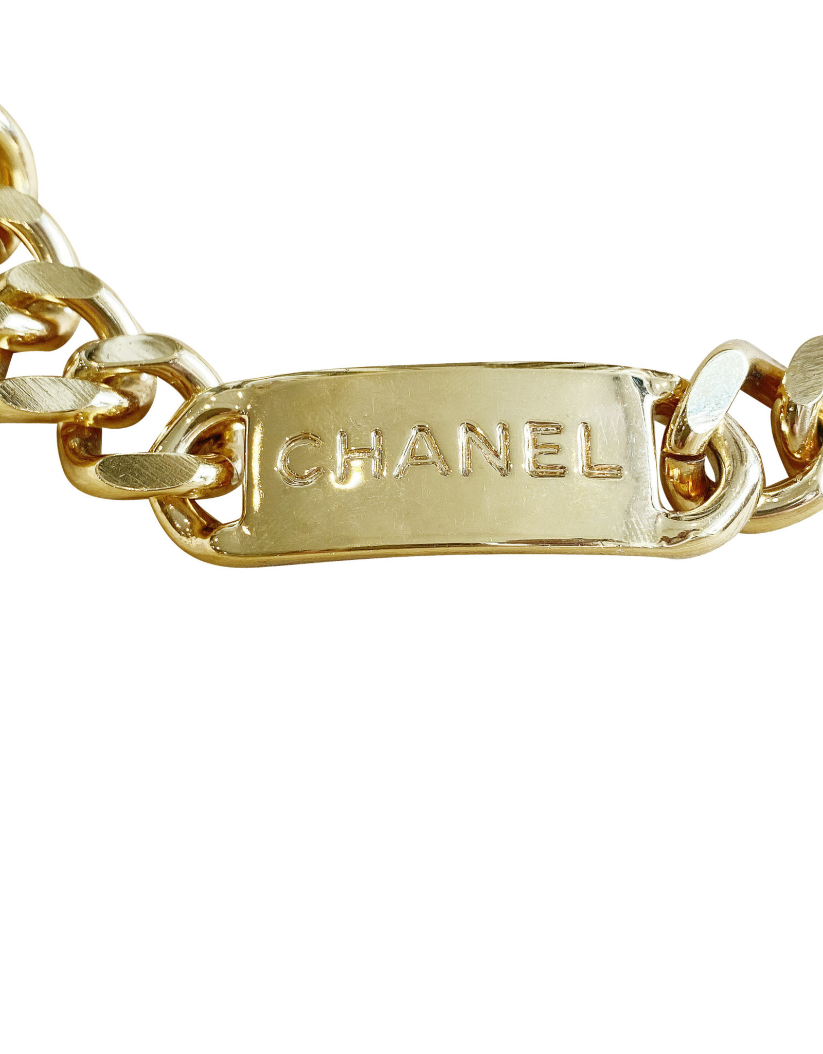 Chanel Chanel Medallion Chain Belt (1994 Vintage)