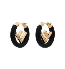 Fendi Fendi Leather Earrings