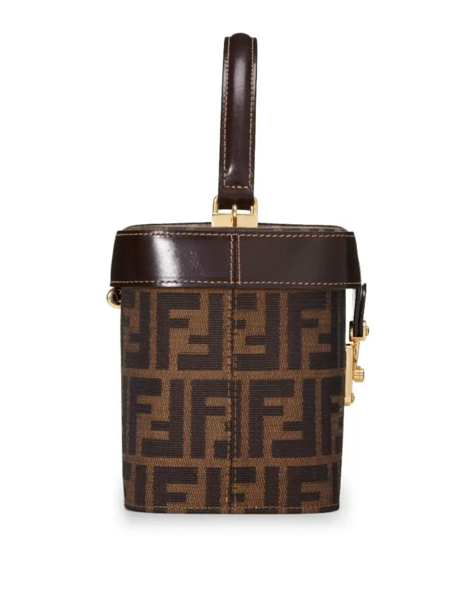 Wyld Blue Vintage Vanity Case Bag