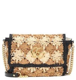 Gucci Gucci Raffia Marmont Bag