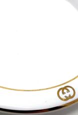 Gucci Gucci White Gold Logo Ashtray
