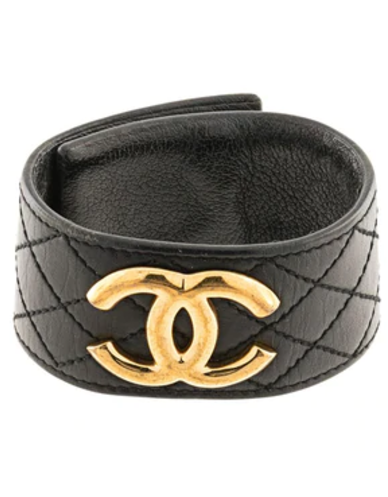 Chanel Chanel Quilted Leather Cuff (1997 Vintage)