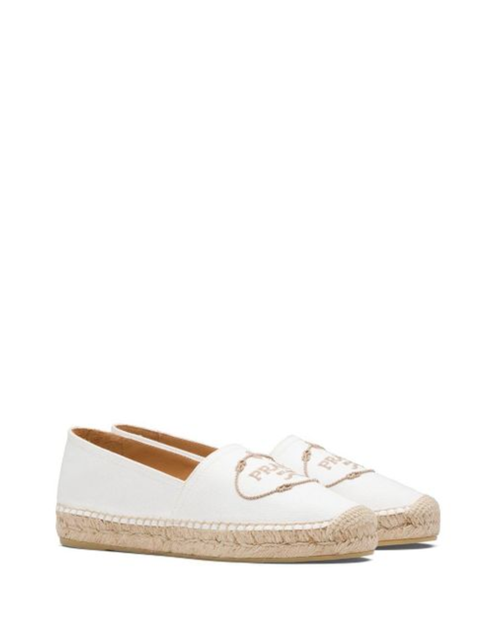 Prada Prada Canvas Slip-On Espadrilles