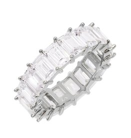 Adinas Baguette Eternity Band