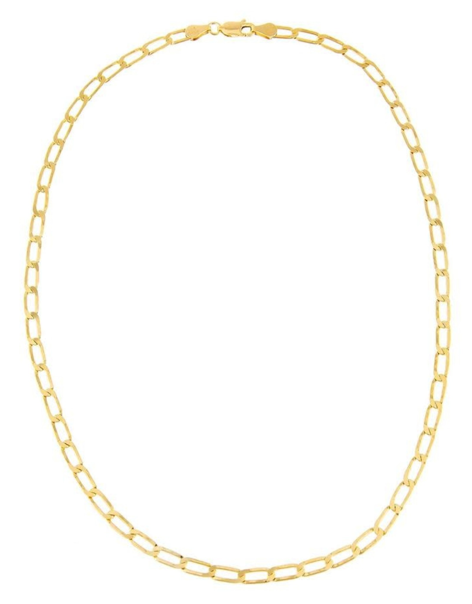 Adinas Twisted Paperclip Necklace